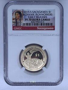2015 S Sacagawea Dollar Coin NGC PF70 UC