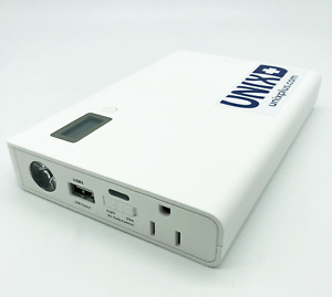 25600mAh Laptop Power Bank AC Outlet Portable Power Bank Travel Charger 110V/60W