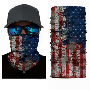 Face Mask Sun Shield Neck Gaiter-2 PACK  Bandana Headband UNISEX