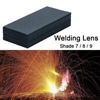 20PCS 108mm × 50mm Masque de Soudage Lentille verre noir Lens Shade