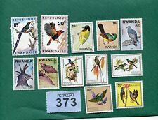 Set stamps of  Rwanda.Birds