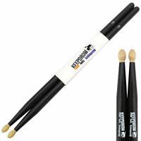 keepdrum 5BB Black Hickory Drumsticks Schwarz 1 Paar