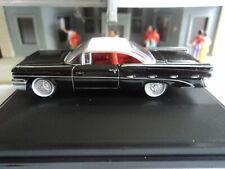Oxford 1959 Pontiac Bonneville Regent Black 1/87 Ho diecast Gm