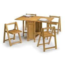 White Seats Table & Chair Sets