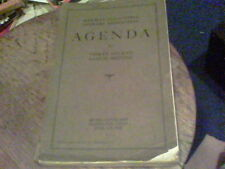 1922 Railway Accounting Officers Association Agenda for 34th Annual Meeting wb5