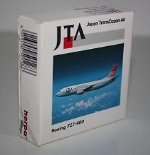 Herpa Wings-JTA-japan transocean air-boeing 737-400-m/w reg. -1:500 - #501286