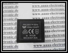 Print Trafo 230V/9V 1,9VA  Typ:V30AJ-12A2P7 1 Stück