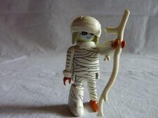 PLAYMOBIL personnages édition spéciale fantome chateau la momie et baton