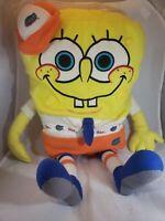 """Rare 2003 Florida State Gators Sponge Bob Square Pants Large 24"""" Plush NCAA"""