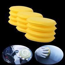 12pcs véhicule de nettoyage de cire auto polissage éponge fartage tampon propre