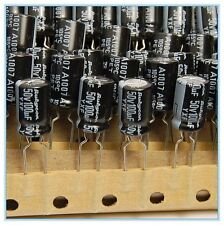 (20pcs) 100uf 50v Rubycon Electrolytic Capacitor 50v100uf Low impedance JAPAN