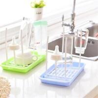 Milk Bottle Dryers Feeding Drainer Cup Drying Rack Storage Holder Shelf Infant H