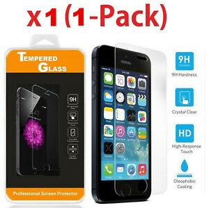 Premium Screen Protector Tempered Glass Film For iPhone 7 8 13 12 11 X Xs XR Max