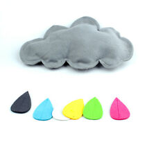3D Cloud Raindrop Shape Baby Nursery Kids Room Home Wall Decal Sticker DIY Decor