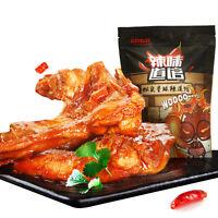 Chinese Snacks Three Squirrel Spiced 华人食品休闲零食小吃卤味鸭架子咪咪辣 三只松鼠小贱鸭锁骨195g/袋 包邮 Haihk