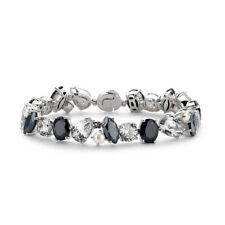 New Genuine Ti Sento Sterling Silver Black CZ and Pearl set bracelet 2687ZW £350
