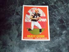 brady quinn (cleveland browns-qb) 2007 topps rookie insert CARD #1/22 mint