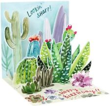 Cacti  -  3D Pop-up Card by Up With Paper