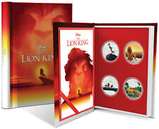 Niue - 2019 - 4x1 OZ Silver Proof Coin Set- Disney - The Lion King