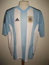 Argentina home AFA football shirt soccer jersey maillot trikot camiseta size XL