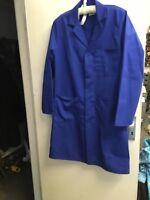 "Harpoon Britsih Workwear Royal Blue Overall  Workers Sz 36 "" Vintage Unused"