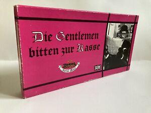 Die Gentlemen bitten zur Kasse / Vintage Brettspiel / Spiele-Schmidt / komplett