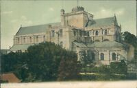 Postcard Hampshire Romsey Abbey Posted Southampton 1905