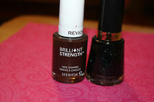 Lot of 2 Revlon Nail Polish in 736 Elusive & 160 Dominate