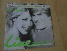 "Lime   Re-Lime-d / Angel Eyes  1984 Dutch 12""  HI NRG EURO DISCO"
