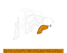 HONDA OEM 01-02 Civic Quarter Panel-Wheel Well Right 64330S5PA00ZZ
