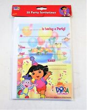 Dora The Explorer Party Invitations (Pack of 20)