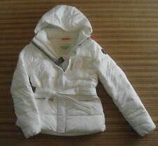 ABERCROMBIE & FITCH…. Woman's  OUTERWEAR  … Size L   White