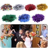 EE_ HOLLOW HEART-SHAPED WEDDING DECORATION SPRINKLING CONFETTI TABLE SUPPLIES GO
