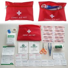 Mini Survival First Aid Kit Treatment Bag Travel Home Workplace Medical Pack