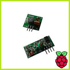 Fs1000a XY FST xy-mk-5v 433mhz transmisor receptor & superregeneration Raspberry Pi