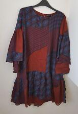 ZARA FLOWING PATCHWORK DRESS BNWT SIZE L