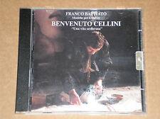 FRANCO BATTIATO - BENVENUTO CELLINI: UNA VITA SCELLERATA - CD COME NUOVO (MINT)