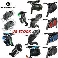 ROCKBROS Bike Bicycle Saddle Bag Waterproof Water Bottle Bag Cycling Tail Bag US