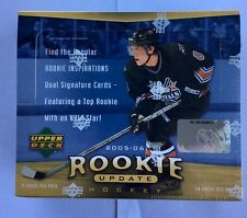2005-06 Upper Deck Rookie Update Factory Sealed Hobby Hockey Box