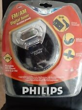 Philips Azt 9505 Portable Cd Player With Car Kit Discman