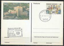 Austria United Nations 1993 Architecture Post card Naposta'93 exhibition