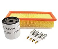 Genuine MG Rover Service Kit (Oil, Air Filter & Spark Plugs) MGF ZUA00000F-XP