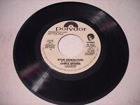 PROMO James Brown Star Generation 1979 45rpm VG++