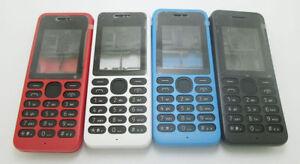 New Housing Cover Case Keypad for Nokia 130 DS RM-1122 1035 Red Black Blue White