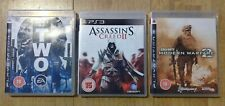 PlayStation 3/PS3 Game Bundle - COD: MW2, Army of Two, Assassin's Creed 2/II