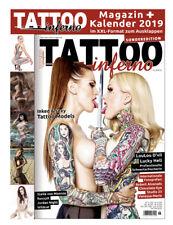 Tattoo Inferno Sonderedition 2018-06 mit XXL Kalender 2019 zum ausklappen