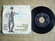 Rita Pavone - Sei la mia mamma / Viva la pappa col pomodoro -  45 ORIGINALE