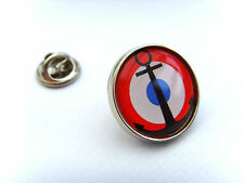 French Naval Aviation Roundel Lapel Pin Badge Gift