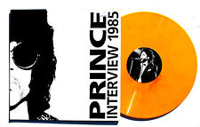 "PRINCE: Interview 1985 LP DISCUSSION Prince112 UK 1985 12"" ORANGE VINYL VG++"