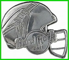 Hard Rock Cafe 2007 3-D FOOTBALL Helmet PIN with Flying V Guitar PIN #1/3 LE 50!